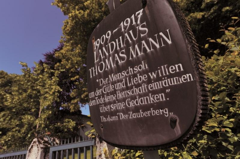 2017 ist Thomas Mann-Jahr in Bad Tölz