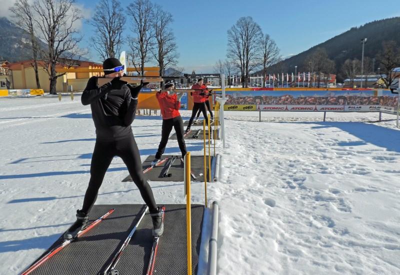 Urlaubstrend - Biathlon selbst ausprobieren