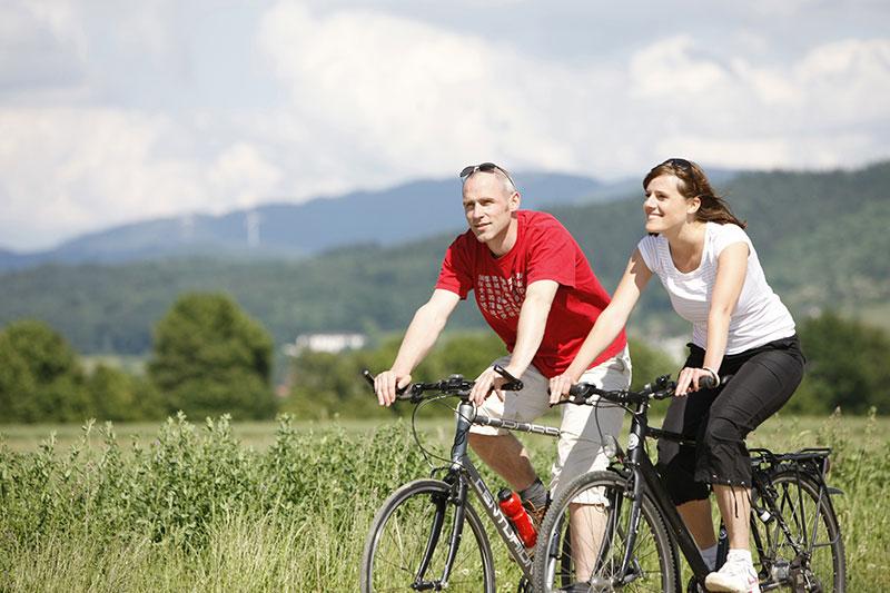 Auf familienfreundlichen Radwegen durch den Schwarzwald