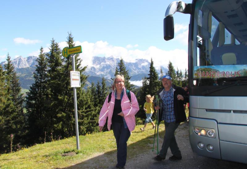 Kulinarische Hüttentour mit dem Wanderbus