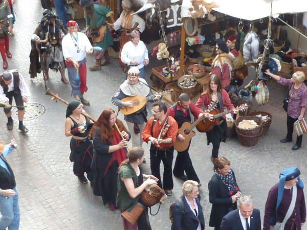 13. Historisches Markttreiben zu Meersburg
