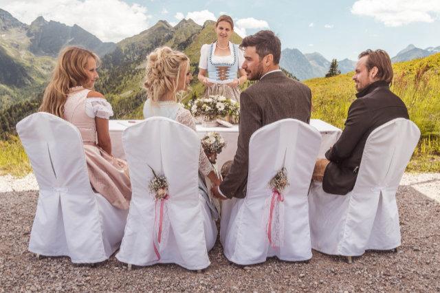 Hochzeit am Berg beschert Gipfelglück