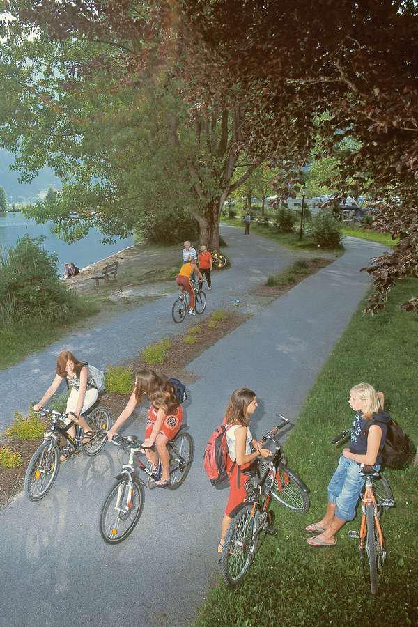 Radtouren zu klaren Seen und wilden Wassern im Salzburger Land
