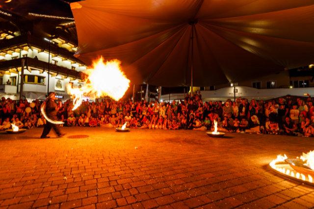 Lachen, staunen und bewundern beim Straßenkunstfestival 2019 in Seefeld