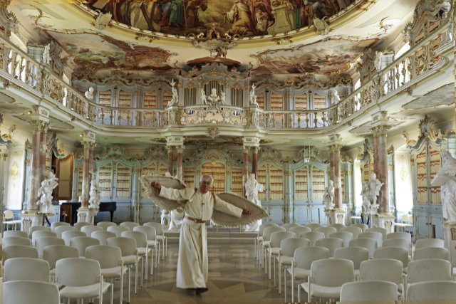 Rund um den Bodensee Klosterluft schnuppern