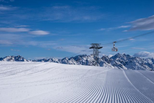 Vorzeitiger Saisonstart 2019/20 auf Davos Parsenn
