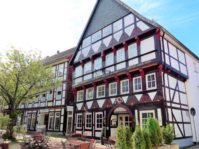 Fachwerkhäuser in Osterode im Harz erzählen ihre Geschichten