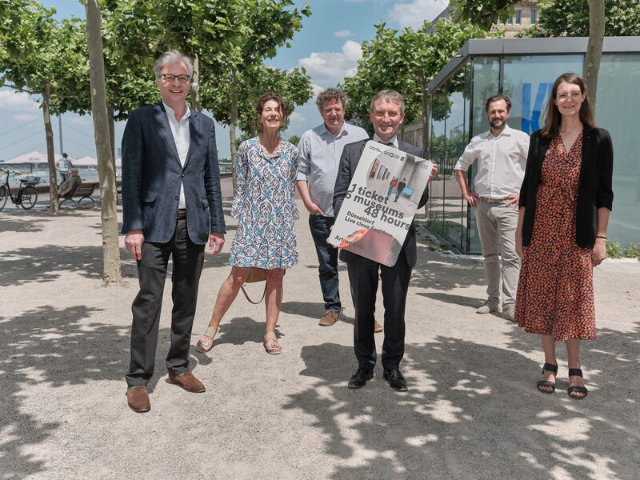 Ein Ticket, sechsmal Kunst zu Fuß - Düsseldorf präsentiert Art:walk48
