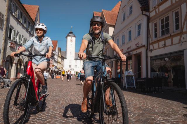 Rad-Touren der Sterne führen nach und durch Bad Mergentheim