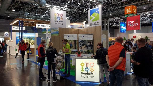 Nordeifel Tourismus GmbH und Kreis Euskirchen präsentieren sich auf der Outdoormesse TourNatur