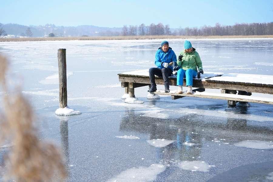 Winterzauber rund um das Bayerische Meer im Chiemsee-Alpenland genießen