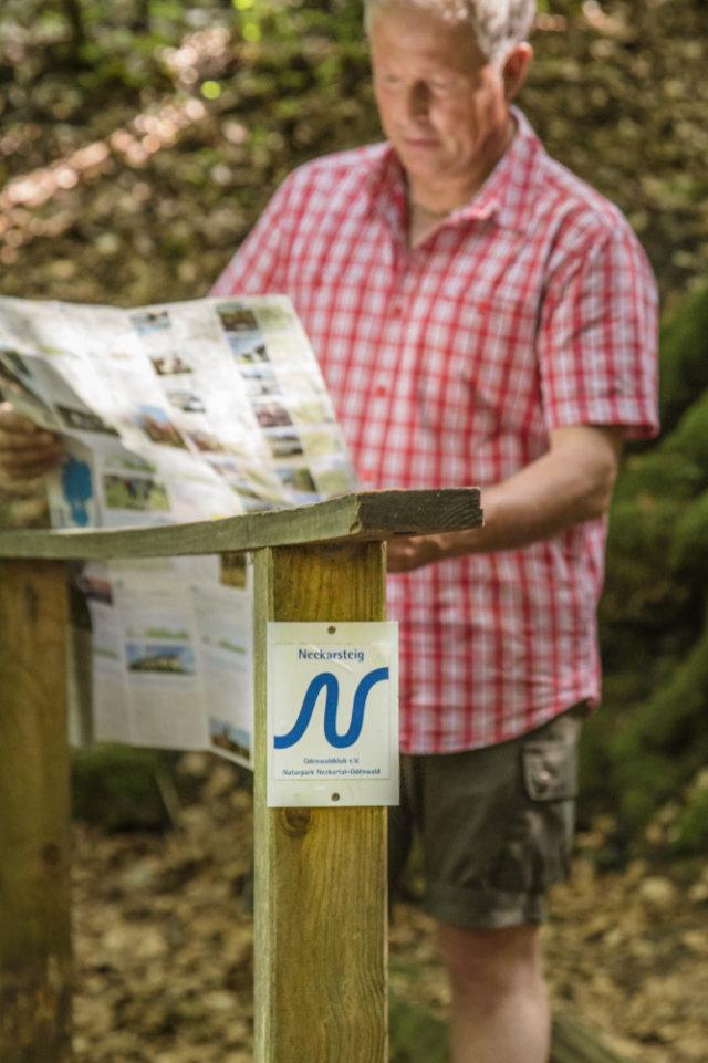 Neckarsteig erneut als Qualitätsweg Wanderbares Deutschland zertifiziert