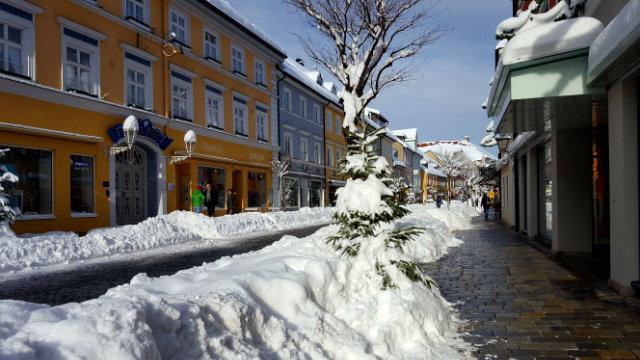Streifzüge durchs Winterwanderland Murnau