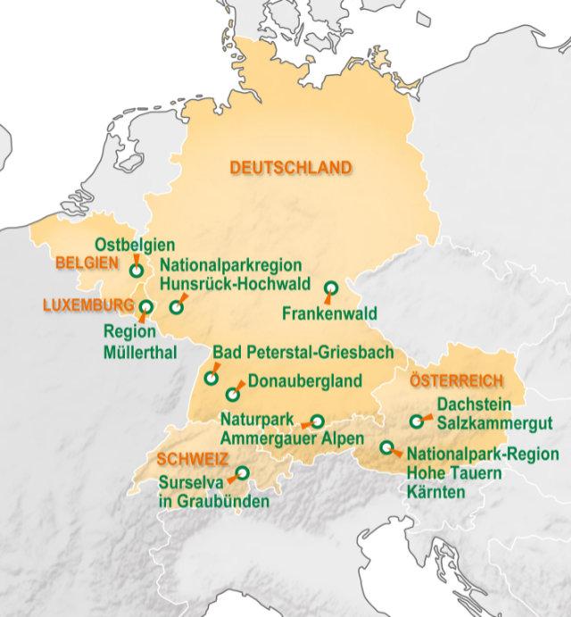 Neue BoW-Region Nationalparkregion Hunsrück-Hochwald