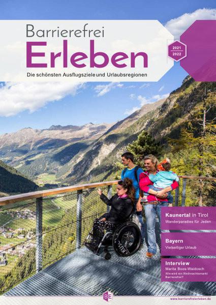 Neue Auflage des Reisemagazins Barrierefrei Erleben für 2021 erschienen