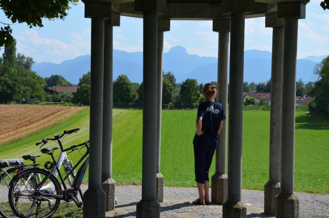 Glückliche Auszeit in Oberbayern