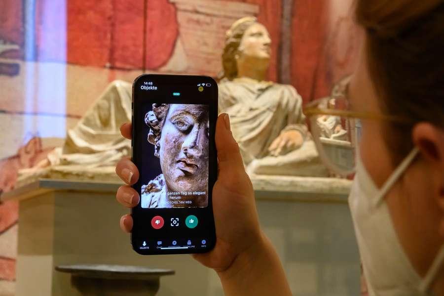 Wenn der Centurio im Museum spricht