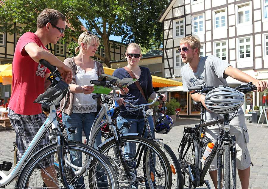 Radeln nach Zahlen zwischen Sauerland und Münsterland