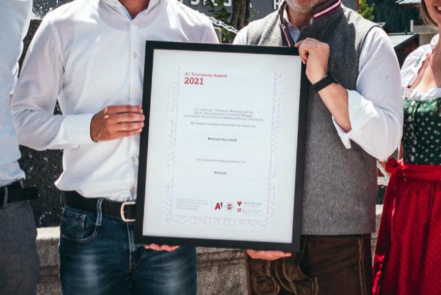 Mittersill gewinnt A1 Smart Tourismus Award 2021