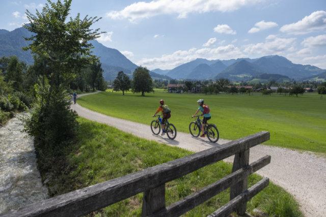 Pionierleistung - 750 Kilometer ausgeschildertes Mountainbike-Netz im Chiemgau
