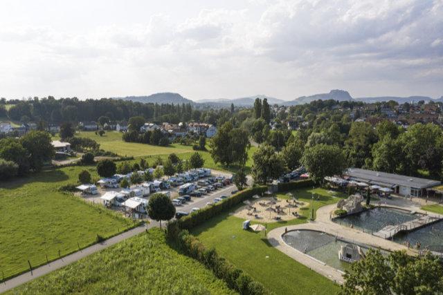 Camperglück zwischen See & Vulkanen am Westlichen Bodensee