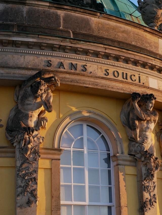 Herbstauszeit 2021 genießen – Potsdam sans, souci. genießen