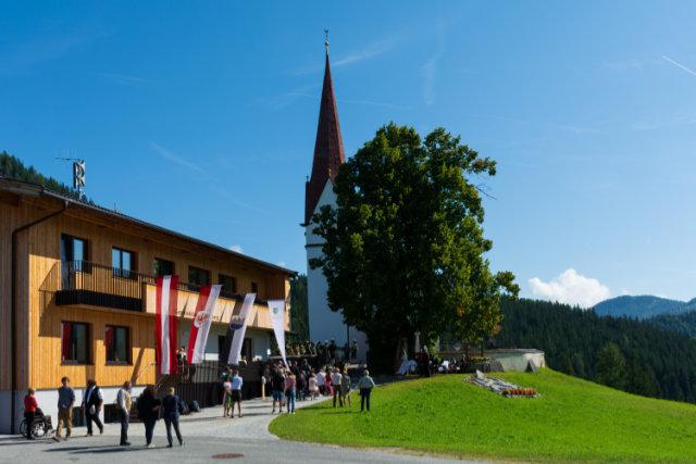 Steinberg am Rofan ist nun ein Bergsteigerdorf