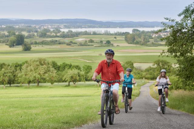 Rauf aufs E-Bike und rein ins Glück am Bodensee