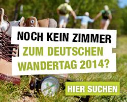 Deutschen Wandertag 2014