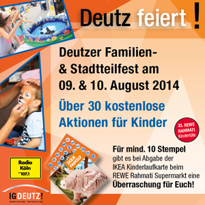 Familienfest 2014 in Deutz