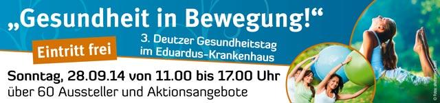 Gesundheitstag 2014 im Eduardus Krankenhaus in K�ln Deutz